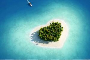 Heart Shape Island