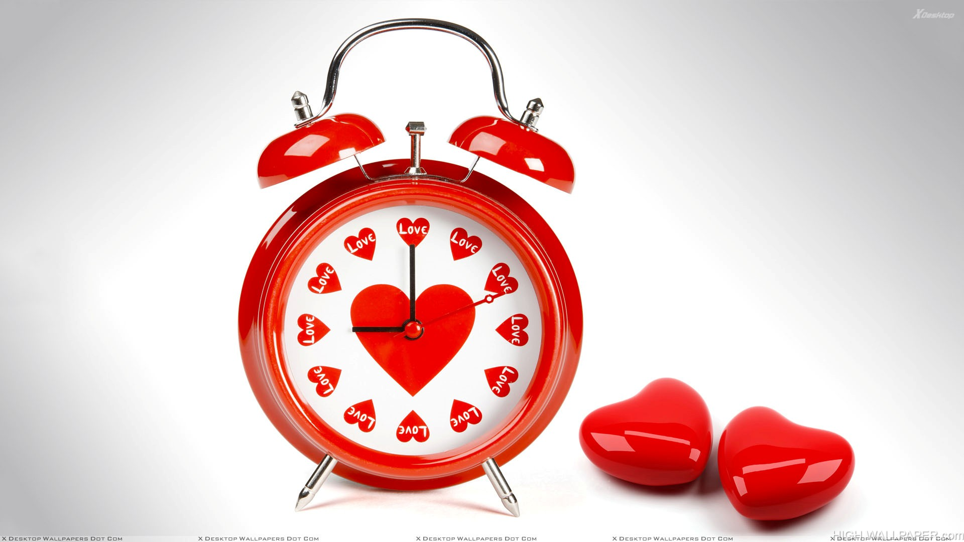 Heart Shape Watch Time To Love