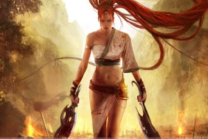 Heavenly Sword   Nariko With Two Swords
