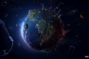 High-resolution-alien-earth-wallpaper