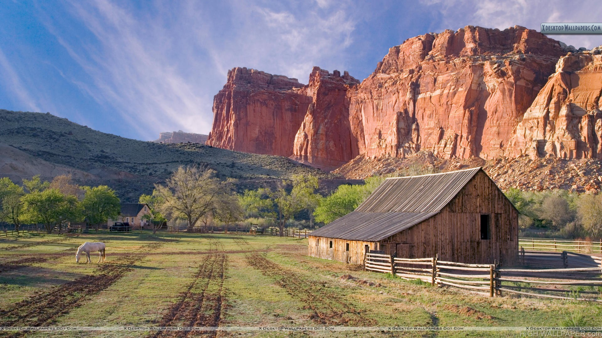 Historic Fruita Capitol Reef National Park Utah