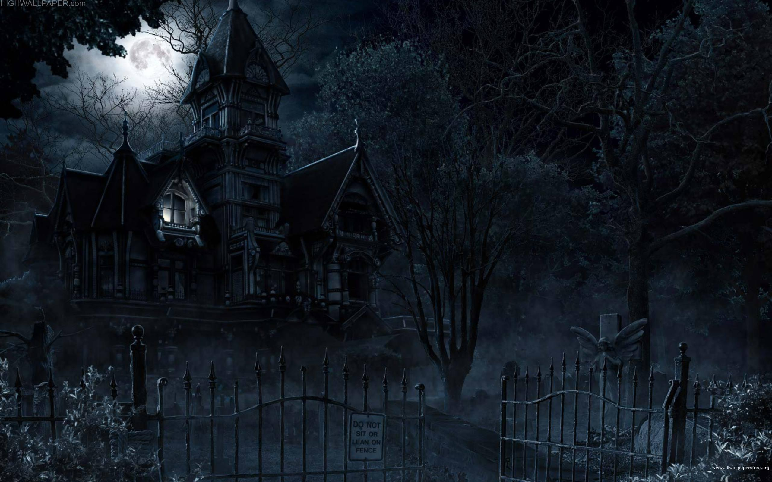 Horror House and Full Moon