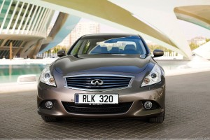 Infiniti G37 Saloon 2010 Front Pose In Grey