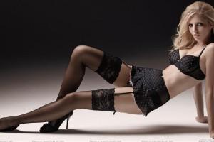 Ivana Vancova In Black Bikini N Black Stockings Sexy Body Photoshoot