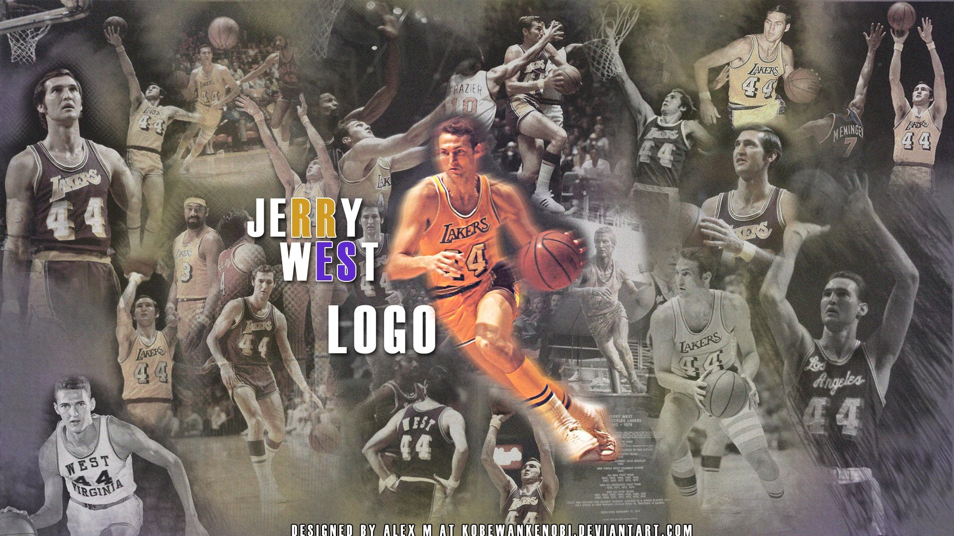 Jerry-West-Lakers-Wallpaper
