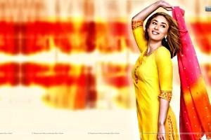 Kareena Kapoor Smiling In Punjabi Suit