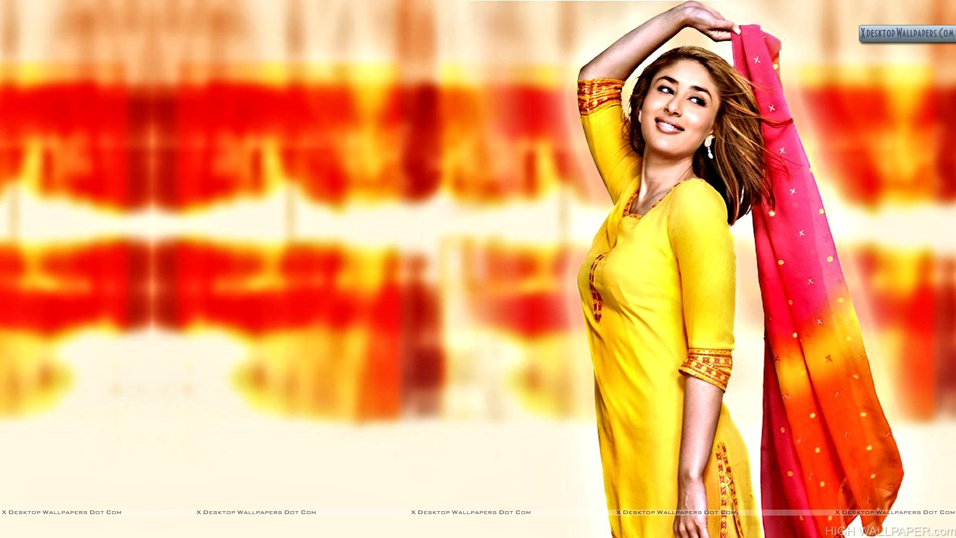 Kareena Kapoor Smiling In Punjabi Suit