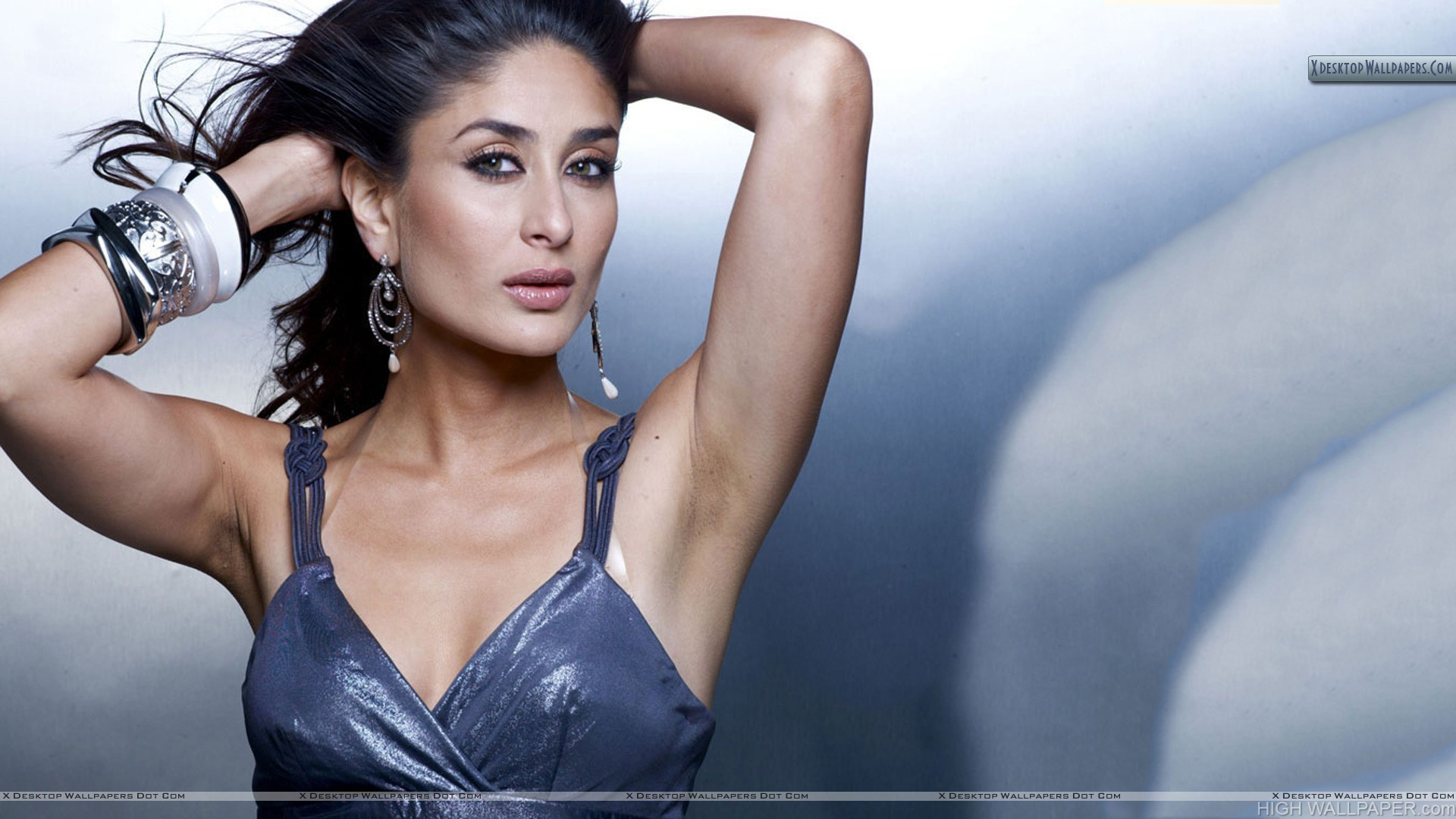 Kareena Kapoor Wet Pink Lips Modeling Pose