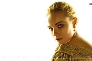 Kate Bosworth Golden Hair And Golden Dress