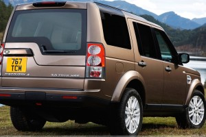 Land Rover Discovery In Brown