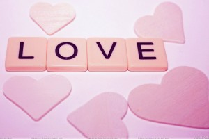 Love With Pink Hearts