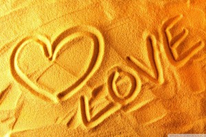 Love Written on Sand