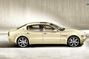 Maserati Quattroporte Collezione Cento Hr Side Pose