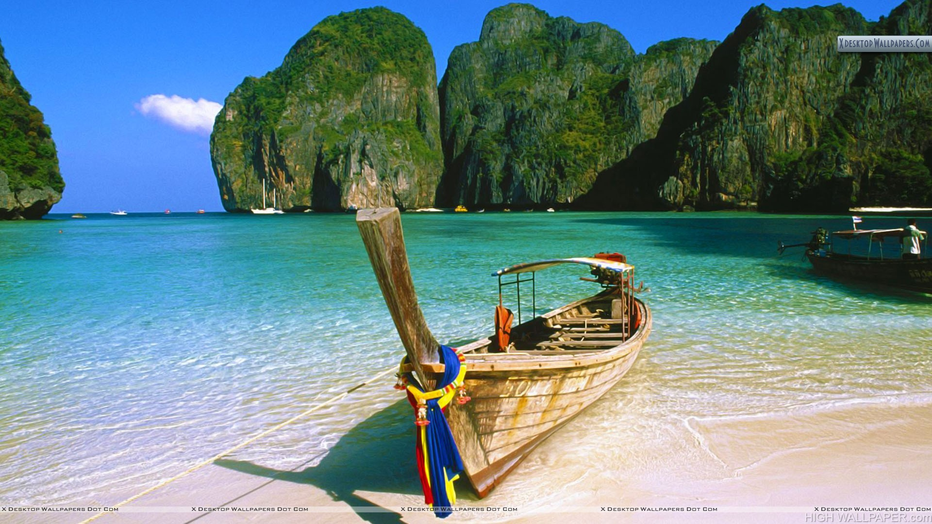 May Bay Phi Phi Island Thailand