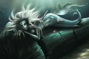 Mermaid Underwater Fantasy