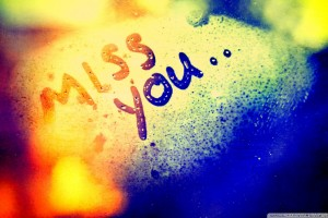 Miss You Written on Fog