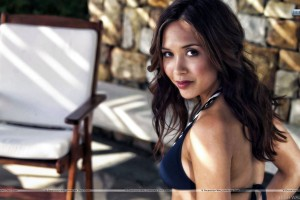 Myleene Klass Side Pose Looks Awseom