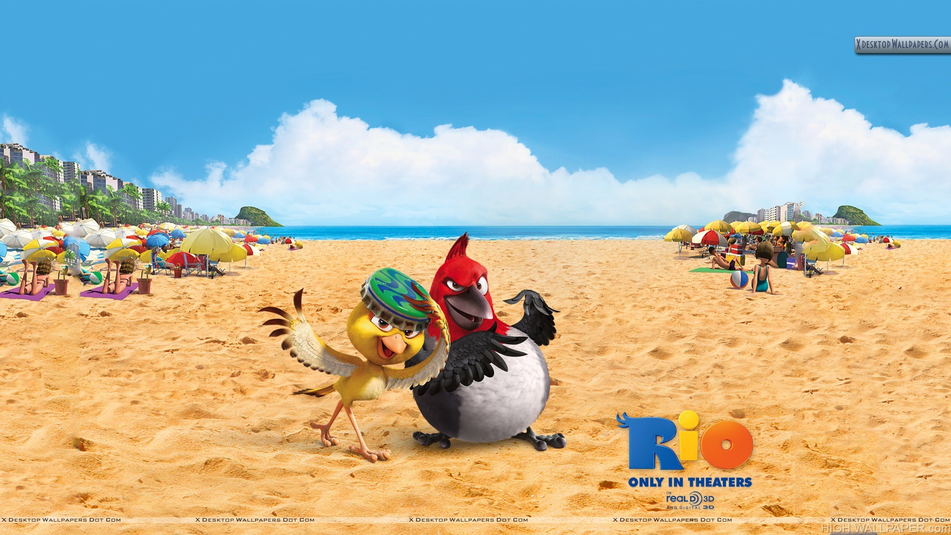 Nico And Pedro In Rio Movie HD Wallpaper