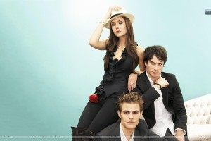 Nina Dobrev Paul Wesley Ian Somerhalder Photoshoot