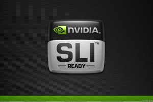 Nvidia Sli Ready And Black Dotted Background