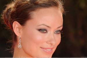 Olivia Wilde Smiling Wet Lips And Cute Eyes Face Closeup