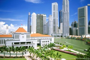 Raffles Site Singapore