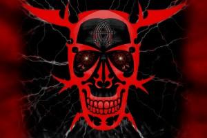 Red Skull Devil Smile