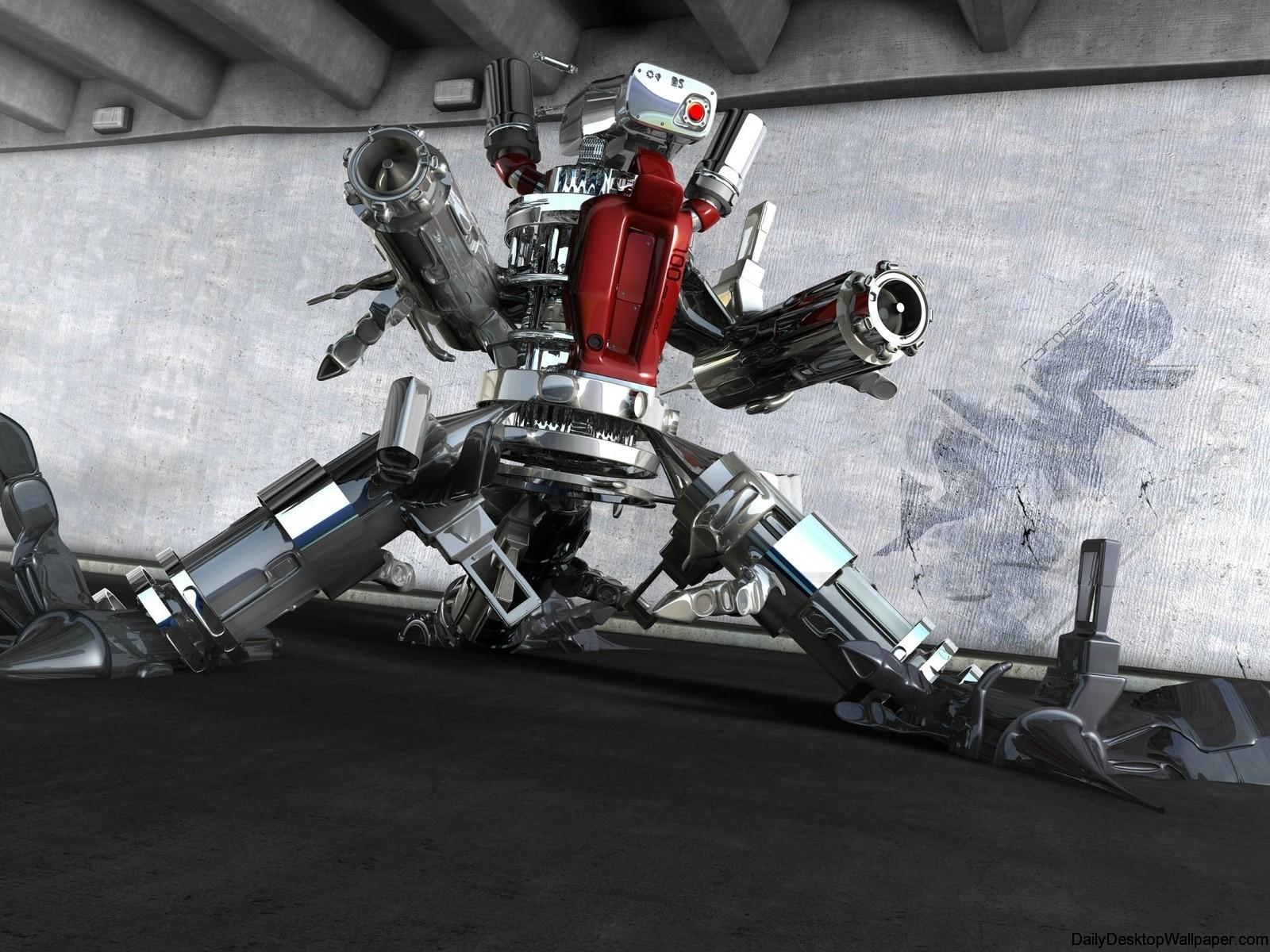 Robot Abstract-Wallpaper-_6