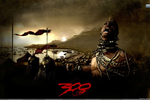 Rodrigo Santoro Screaming In 300