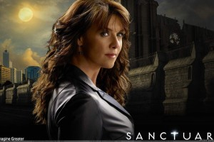 Sanctuary   Amanda Tapping As Dr Helen Magnus