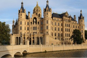 Schwerin Castle Morning View