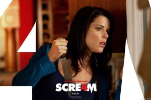Scream 4 Searching in House