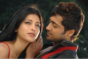 Shruti Haasan And Surya Romantic Photoshoot   7aum Arivu Movie