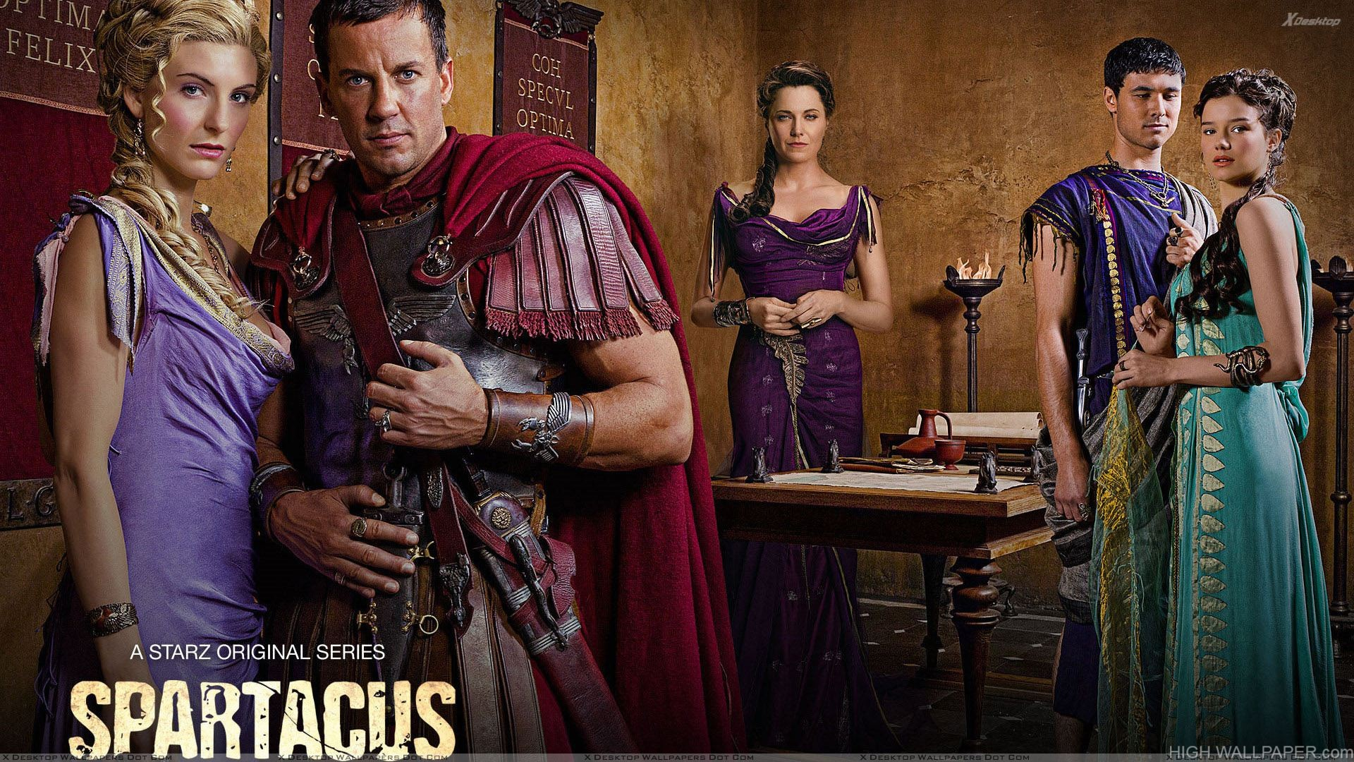 Spartacus   Vengeance   Characters