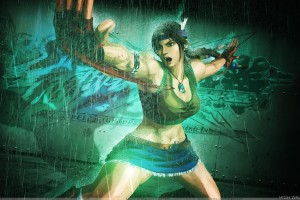 Street Fighter X Tekken   Julia Chang Doing Fighting