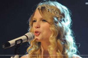 Taylor Swift Saying On Microphone