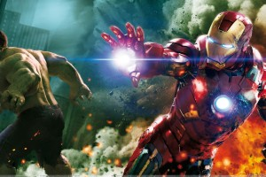 The Avengers   Mark Ruffalo And Iron Man