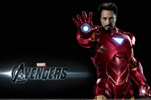 The Avengers   Robert Downey Jr. Tony Stark Showing Hand