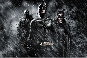 The Dark Knight Rises   Three In Rainy Night