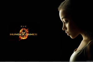 The Hunger Games   Amandla Stenberg As Rue Sad Side Face
