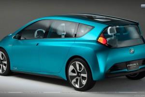 Toyota Prius c Concept Back Pose