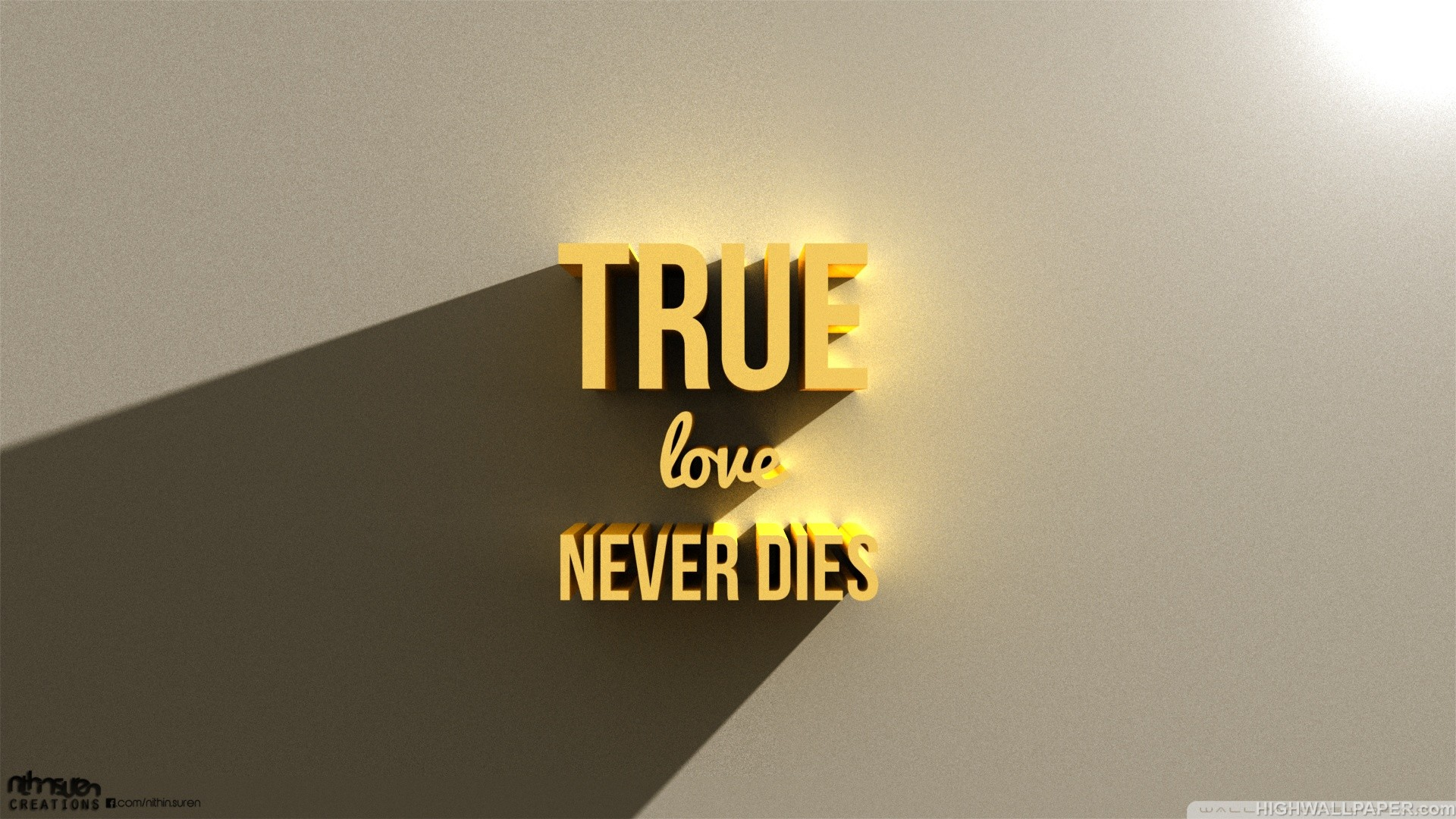 True Love Wallpaper Full Hd : True Love Never Dies HD Wallpaper