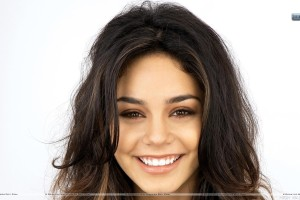 Vanessa Hudgens Smiling Face Closeups