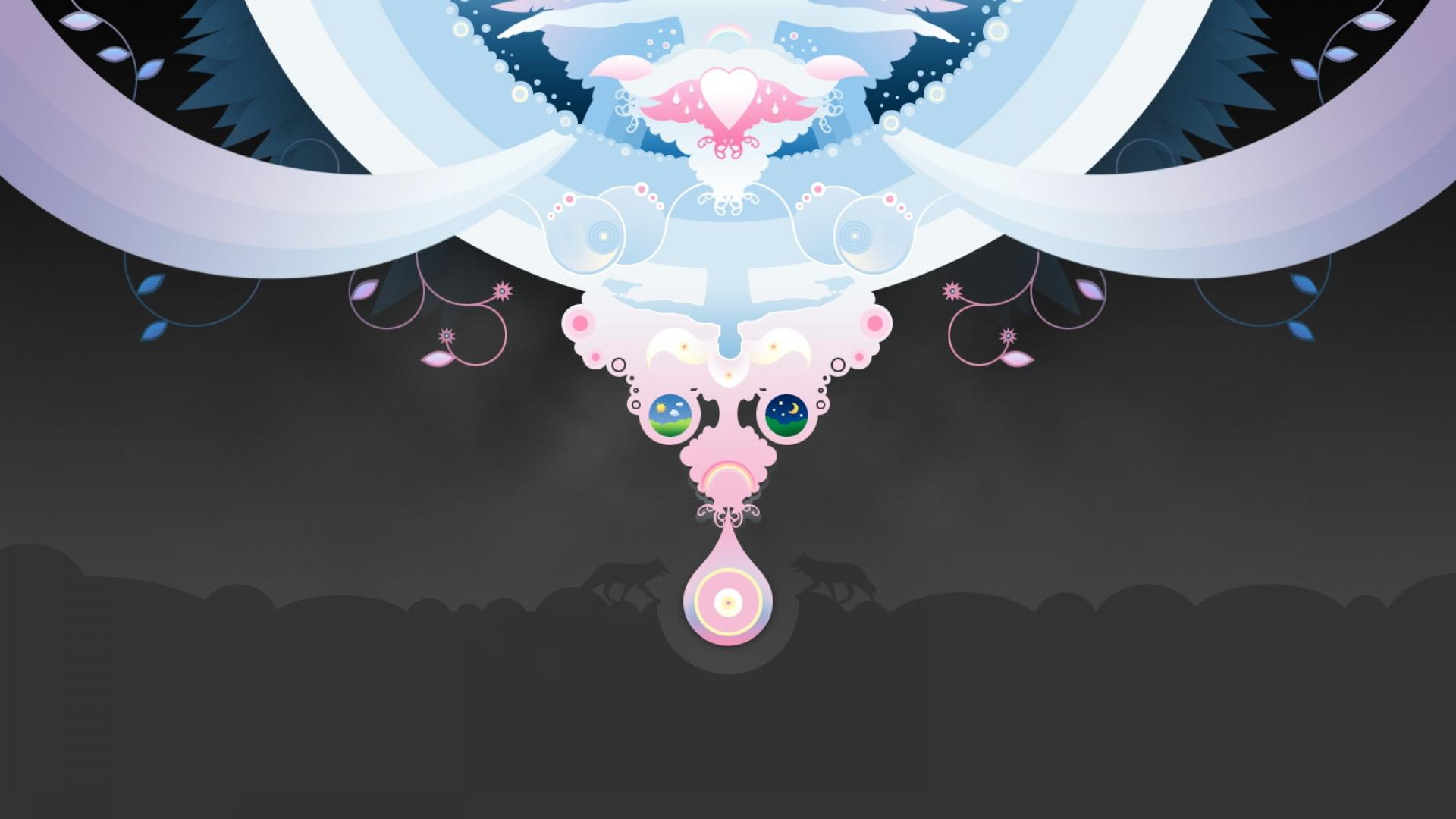 Vector-Angel-Wallpaper
