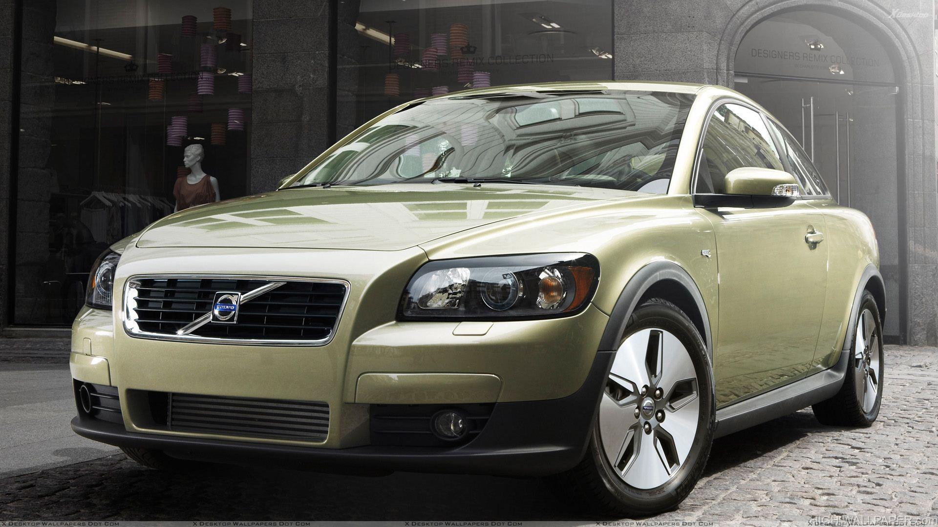 Volvo C30 Green