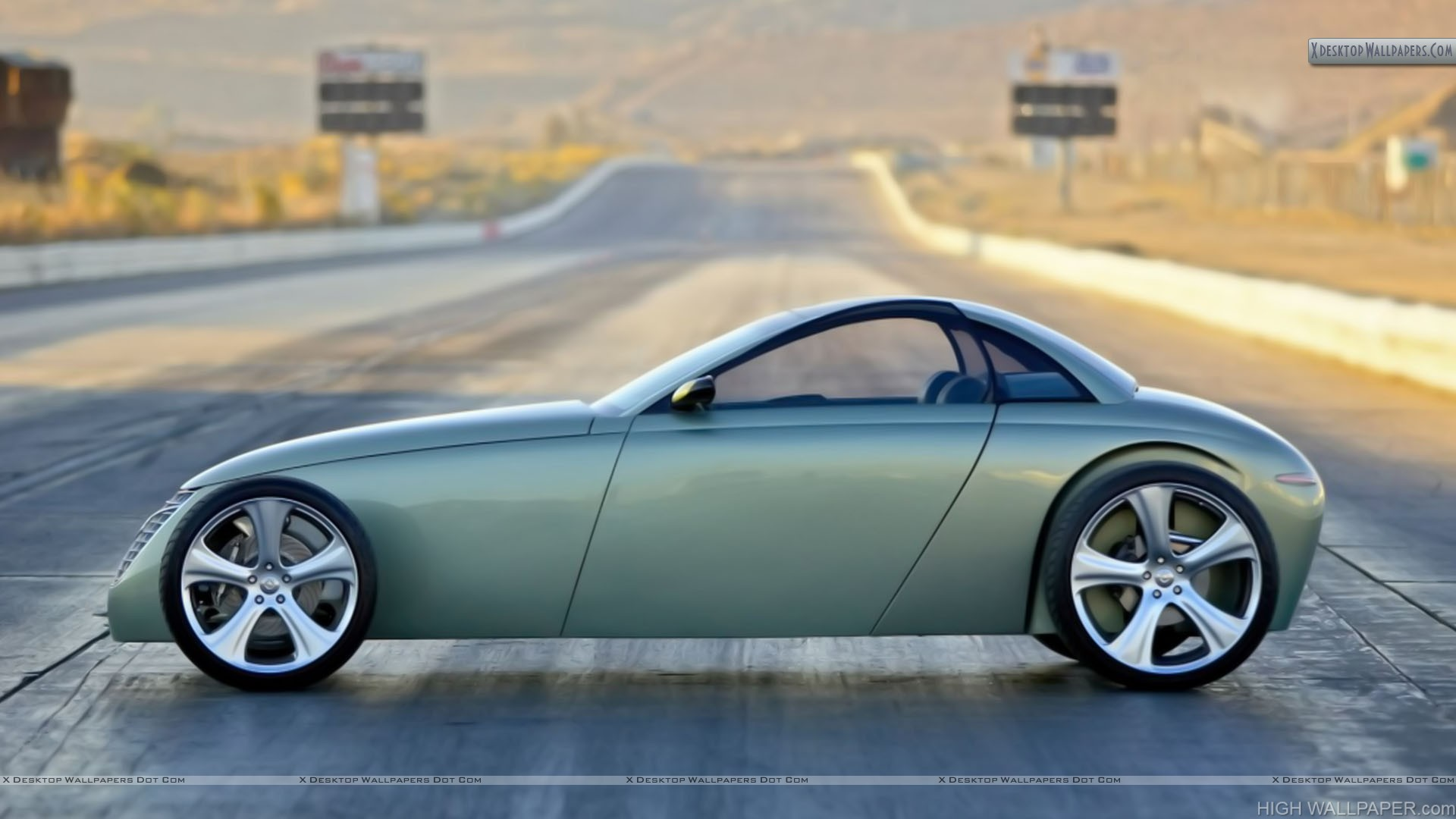 Volvo T6 Roadster Hot Rod Concept Car 2005 Side View