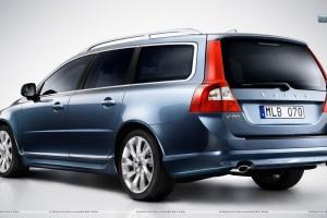 Volvo V70 2012 in Blue Color_2