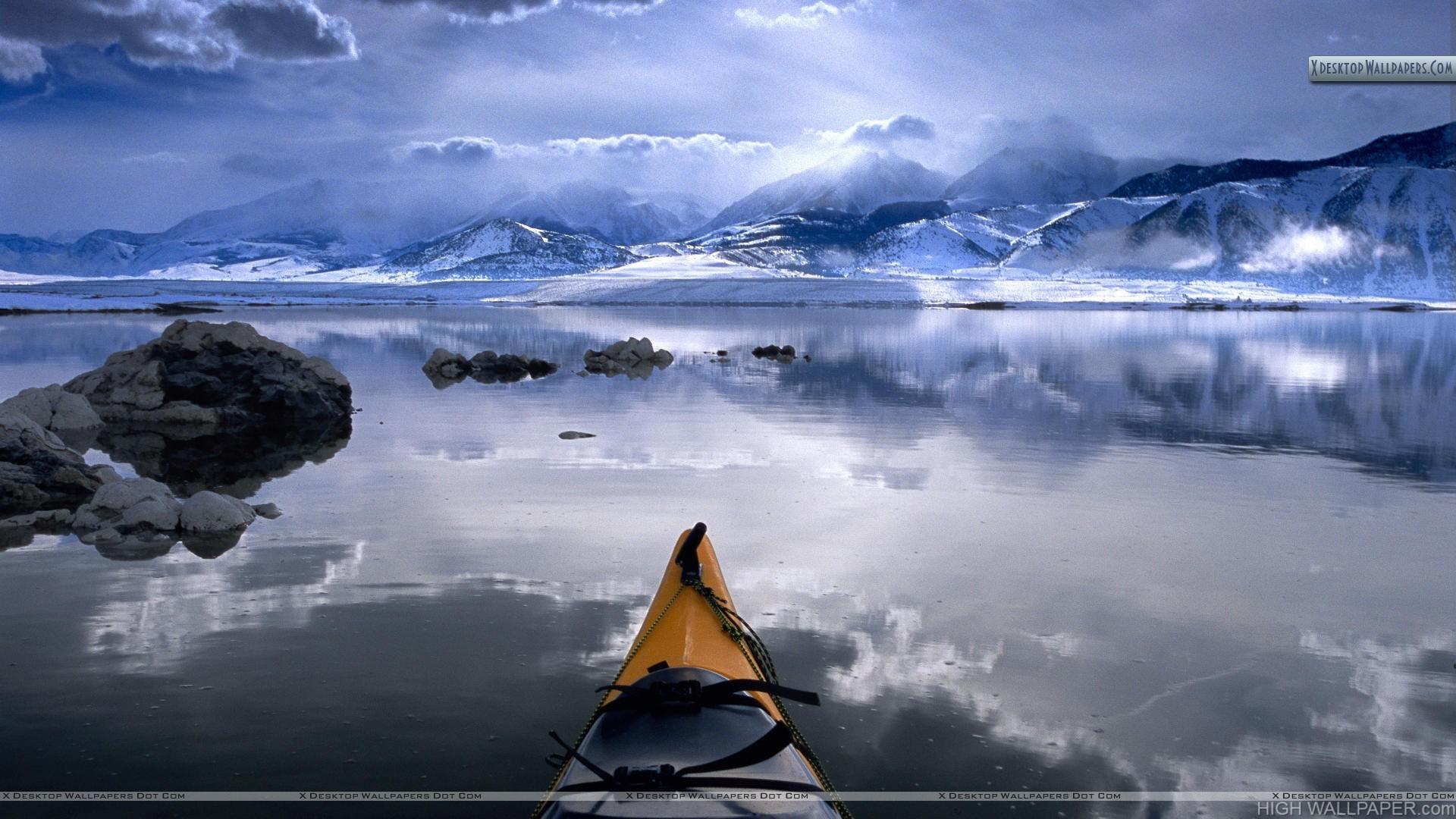 Winter Kayaking Mono Lake California