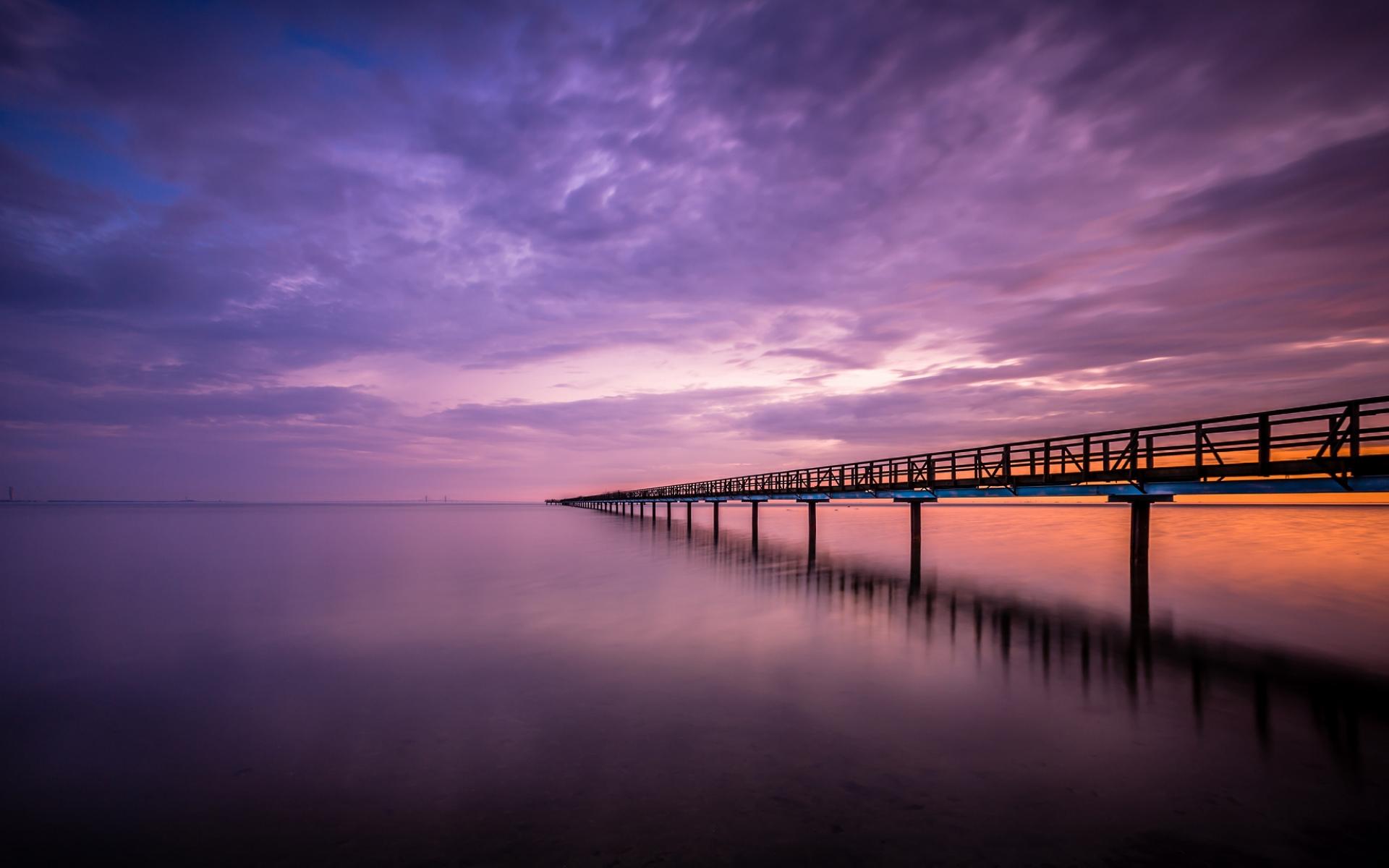 Wodden Bridge and Beach
