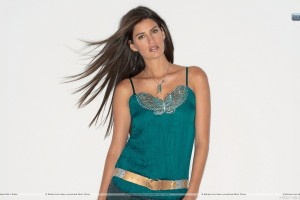 Yamila Diaz Photoshoot Wearing A Green Top